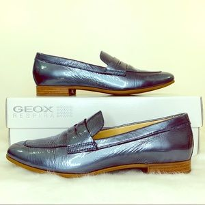 GEOX Respira Nordstrom Marlyna Blue Loafers Sz 8